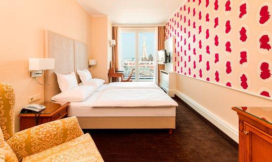 Doppelzimmer mit Blick zum Stephansdom