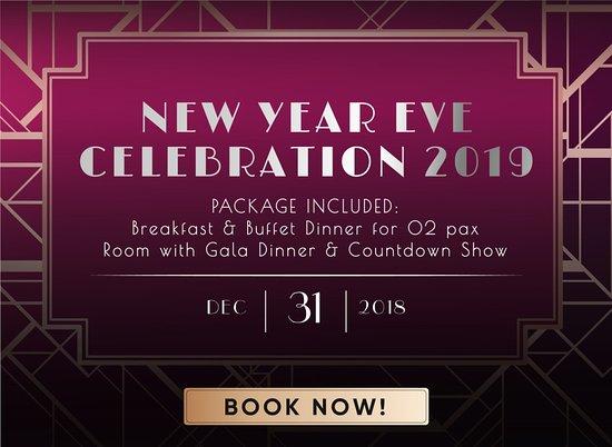 Tỉnh Bà Rịa-Vũng Tàu, Việt Nam: New Year Eve Package 31.12.2019 include Room, Gala Dinner, Countdown show. reservation@oceanami.