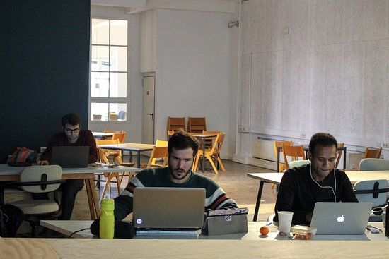 Betahaus: Coworking Area