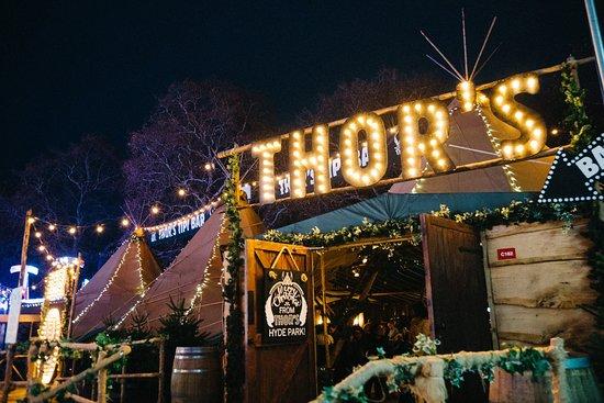THOR'S Tipi Bar Hyde Park Winter Wonderland