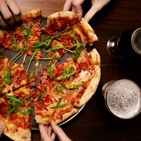 Every Thurs from 6pm we offer either a hotdog or a pizza plus a pint for £10.