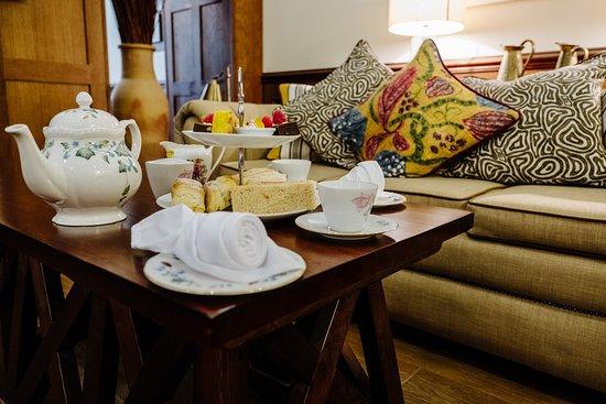 Afternoon Tea at Iffley Blue Restaurant
