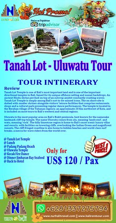 Info detail, please visit our site : https://www.nurbalitravel.com/2018/11/tanah-lot-and-uluwatu-temple-package.html