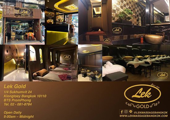 Lek Massage Bangkok - Lek Gold