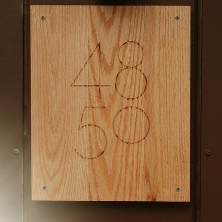4850: our name, comes from our house numbers, 48 and 50