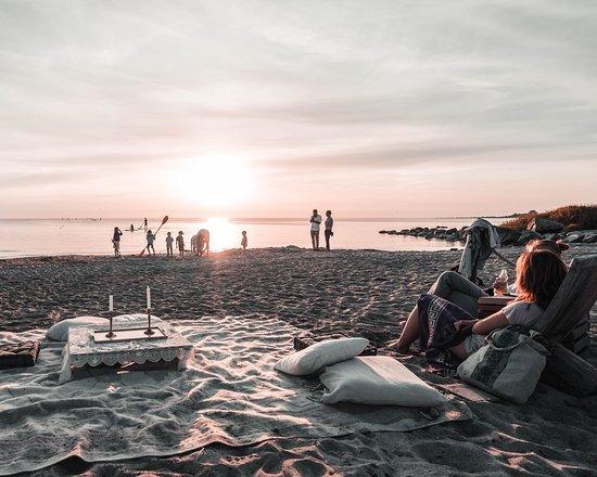 Surflogiet: V.I.P bjudning på stranden