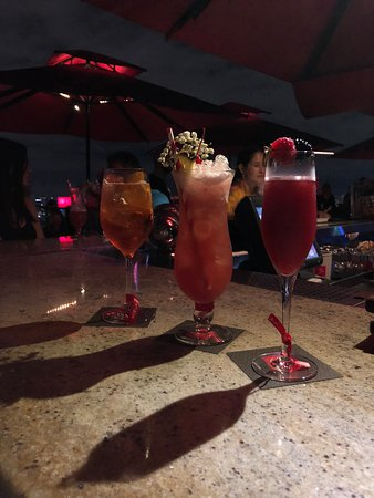 Amazing view with great drinks and services