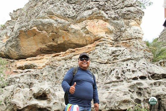 Parque Nacional do Catimbau: Pinturas rupestres contas a história do homem do Nordeste.