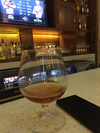 Guyana Marriott Hotel Georgetown: XM 15 year-old rum at the bar.