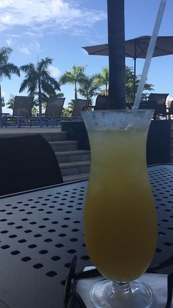 Guyana Marriott Hotel Georgetown: The Caribbean Rum Punch. Pace yourself!