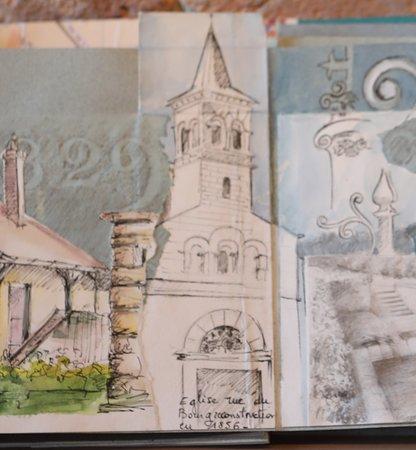 La Ferme de Corcelle: Exemple d'un carnet de voyage : Balade dans Chatenoy le Royal