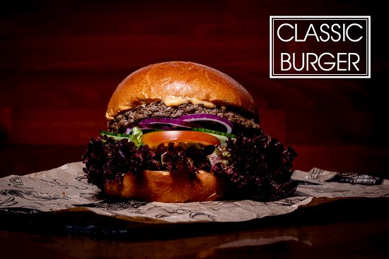 Unser Classic Burger 180 gr. Angus BEEF