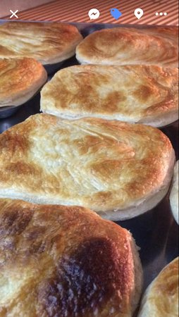 All our Pies are made fresh daily on our premises by us