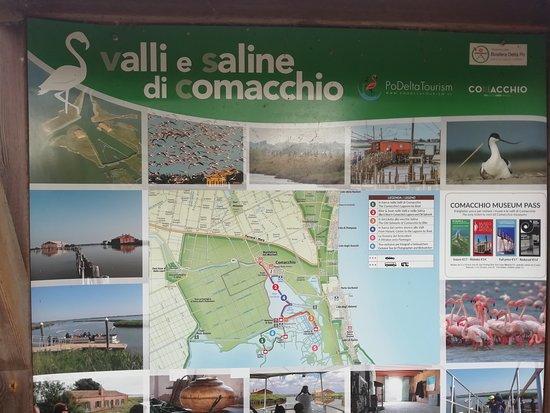 Bettolino di Foce: valli di Comacchio, pianta