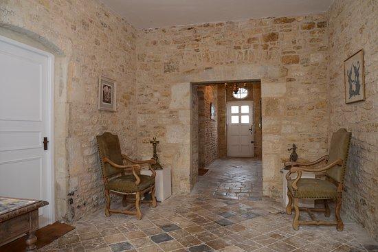 Interior of the 17th century Manor