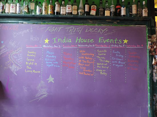 India House Hostel: Activities at India House