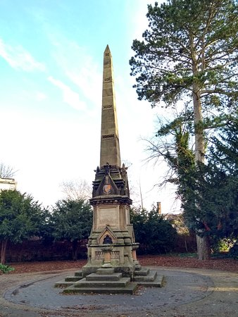 William James Clement memorial obelisk