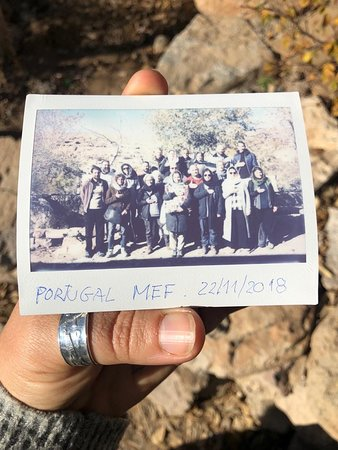 Maymandmoon Ecolodge: Group Photo with Pejman and Abdi