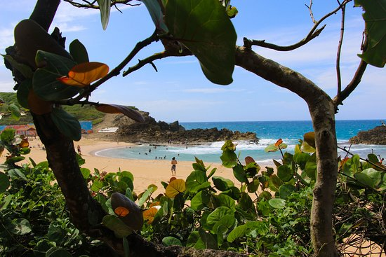 Bayamon, Puerto Rico: A peek into one of the most beautiful beaches I have been too. Would have never known it was here without booking with MBTION!