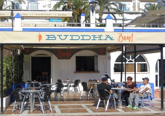 Buddha Bowl BistroBar: Front Line Estepona Port