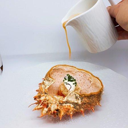 Auberge du Poids Public : soupe araignée de mer