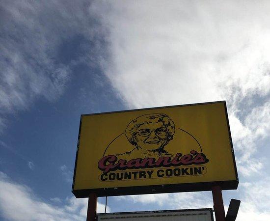 Starke, FL: Grannies restaurant.