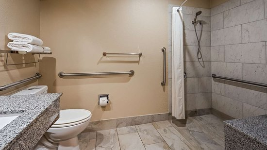 Post, TX: Mobility Accessible Bathroom