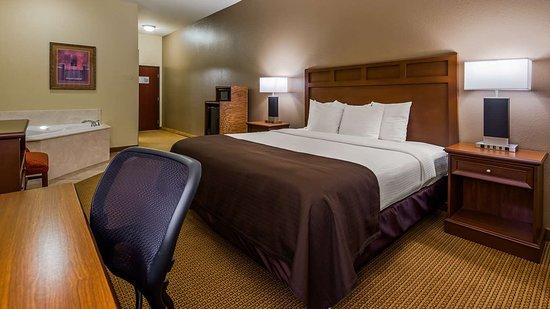 Littlefield, Τέξας: King Guest Room