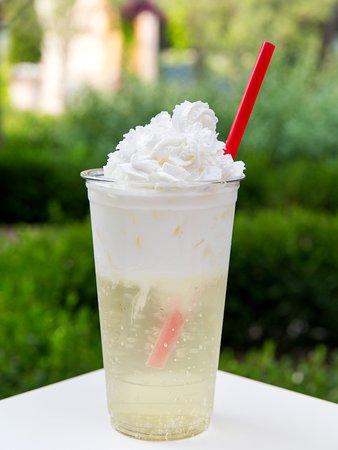 Vanilla Cream Italian Soda.  One of 37 flavors!
