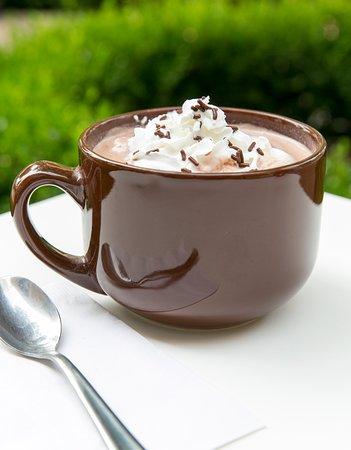 Premium Hot Chocolate.  Original Flavor, Candy Cane, or White Chocolate