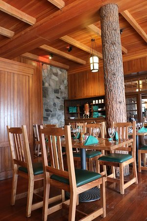 Crater Lake Lodge Dining Room ภาพถ่าย