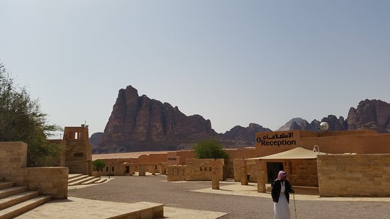 Full-Day Wadi Rum from Aqaba: the start where you hop on the 4x4