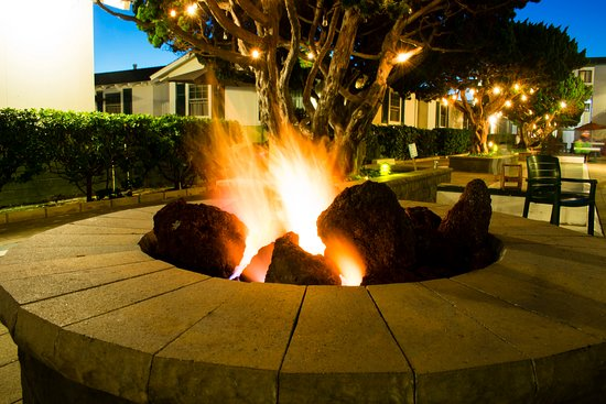 The Beach Cottages: Our fire pit