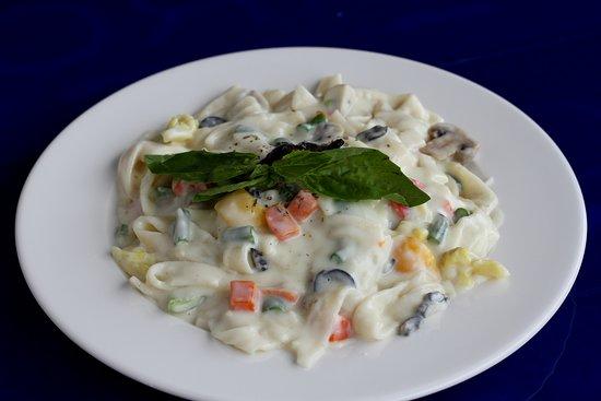 Souza Lobo: Pasta with sauce