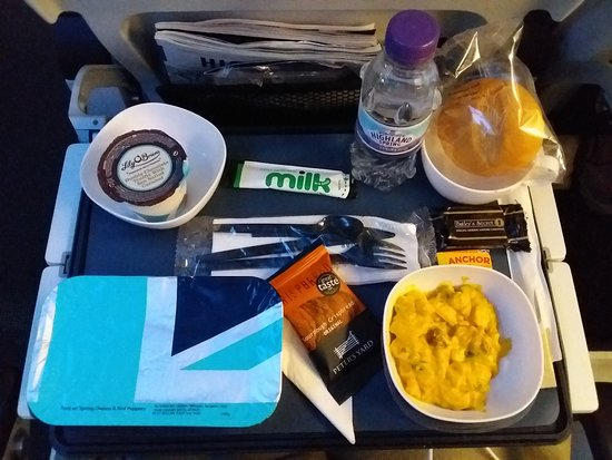 British Airways: Nice meal.