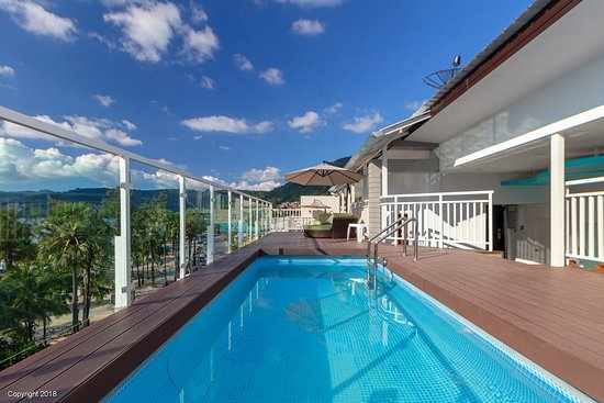 Rooftop Swimming Pool Picture Of Modern Living Hotel Patong Tripadvisor