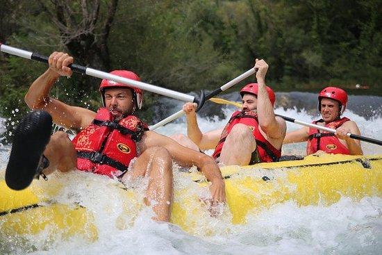 Rafting on Cetina River Departure...