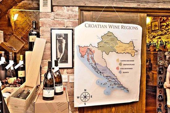 2-stündige Weinprobe in Zagreb