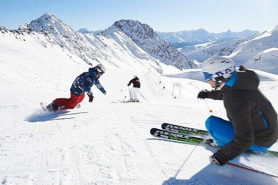 Skifahren im Atlas-Gebirge...