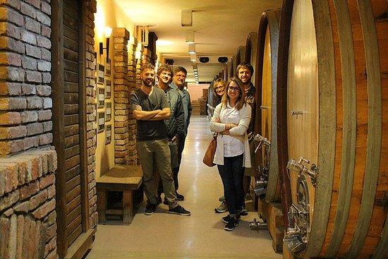 Friday wine tour in Sumadija wine...