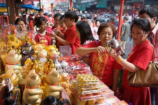 Markets Tour og Golden Buddha Temple
