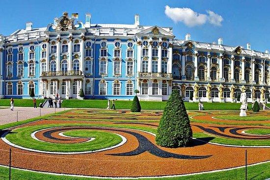 Tour von Puschkin Catherine Palace...
