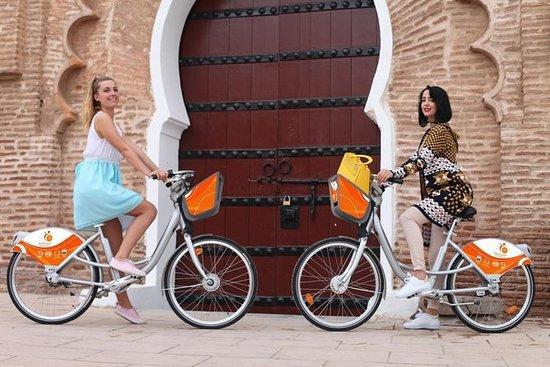 Marrakesch mit dem Fahrrad durch die...