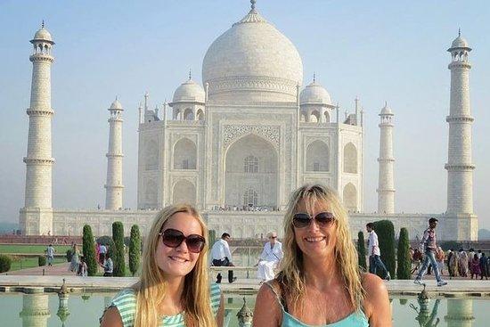 Privado dia inteiro Taj Mahal e Agra...
