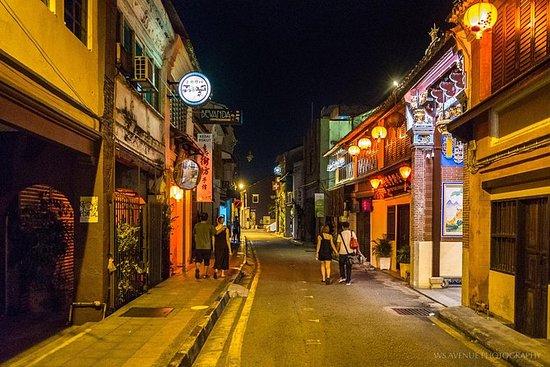 Penang Night Tour With Trishaw Ride