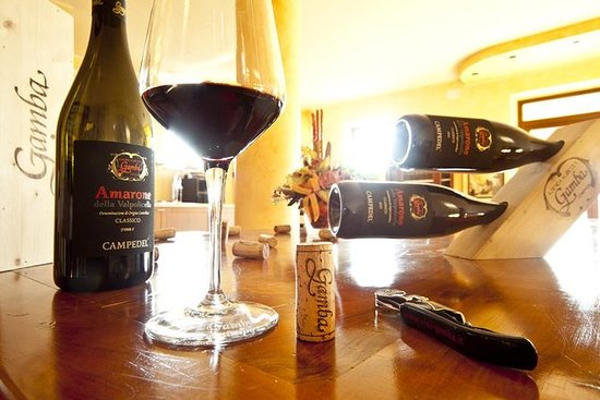 Verona Privat guidet tur med Amarone...