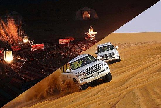 Durante a noite Tunísia Sahara Desert Safari por 4x4 de Douz: Overnight Tunisia Sahara Desert Safari by 4x4