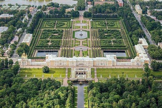 私人彼得夏宫宫殿和花园体验之旅,俄罗斯午餐
