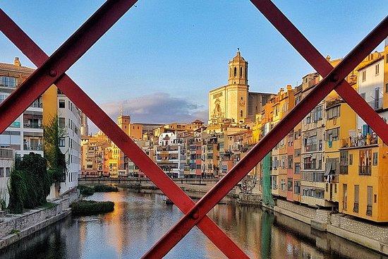 Visite à pied de Girona et dîner de...
