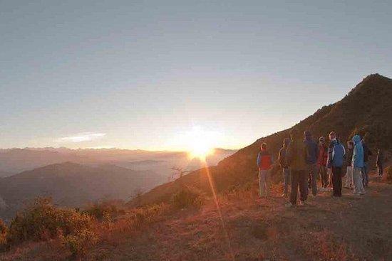 Nagarkot Sunrise y refrescante...